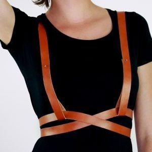 harnais belt ceinture gürtel riemen geschirr fashion accessoire up style mode hand made gefertigt fait main sur mesure