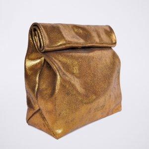 glitzer glitter party soiree theater opera elegant lunch bag pochette ethical conscious fashion revolution ethical