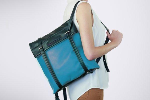 rucksack sac dos tote bag tasche griff artisanal verpackung emballage travel reise voyage unterwegs style fashion slow summer ete bicolore colour blocking