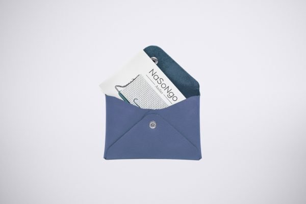 carte bleue visiten geld beutel monet credit natural leder pouch