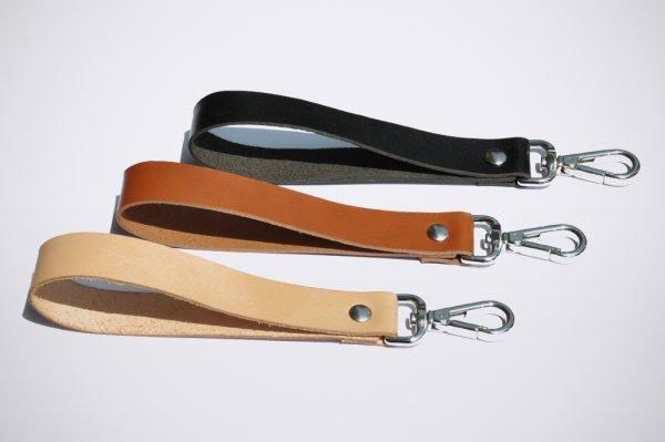 key cahin schlüssel anhänger porte clefs handmade cuir leather leder