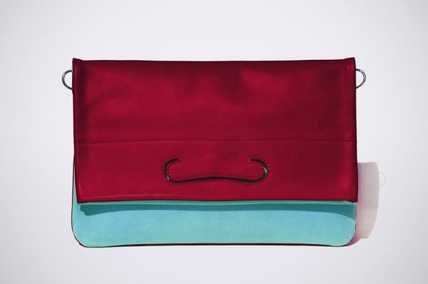 tendence trend street style colour blocking hand made fait sac a main silver silber argent cuivre rose pink pochette summer couleur colourfull bunt farbig